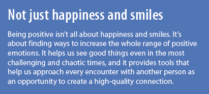 Not just happiness and smiles