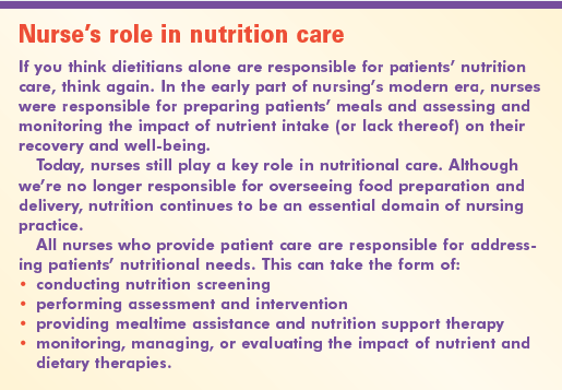 Nutrition care