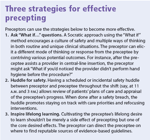 Three strategies