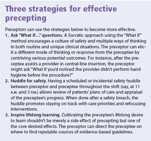 Three strategies