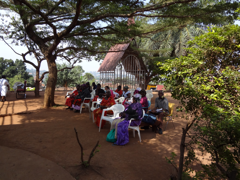 illustration 1_Patients waiting for care at rural Uganda clinic 2012