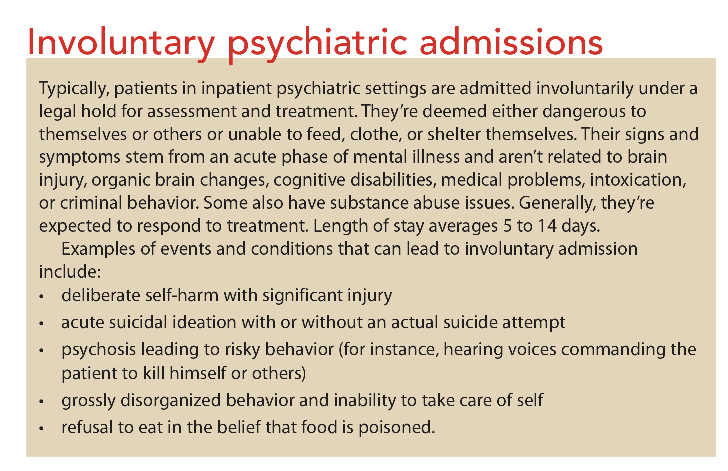Psychiatric Assessment Strategies For Inpatients Resources With A Purpose American Nurse